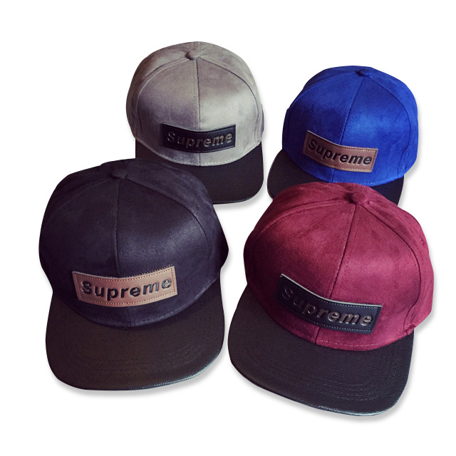 Supreme シュプリーム Suede Camp Cap 2017SS