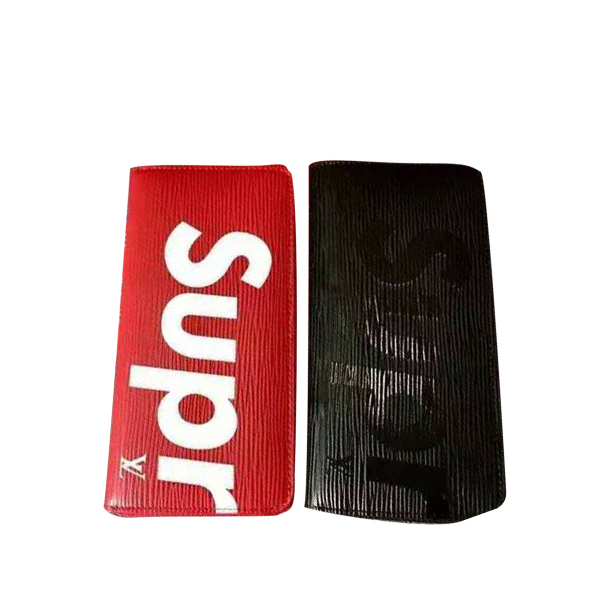 Supreme x Louis Vuitton Epi レザー財布  2色