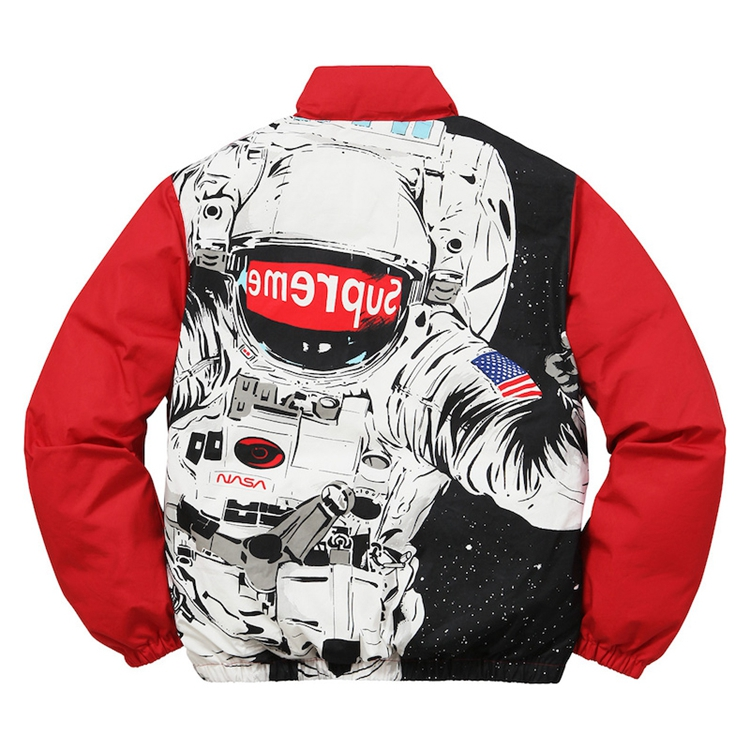 Supreme (シュプリーム) Astronaut Puffy Jacket レッド