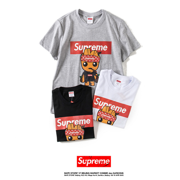 18SS Supreme  X Louis Vuitton  Tシャツ 3色
