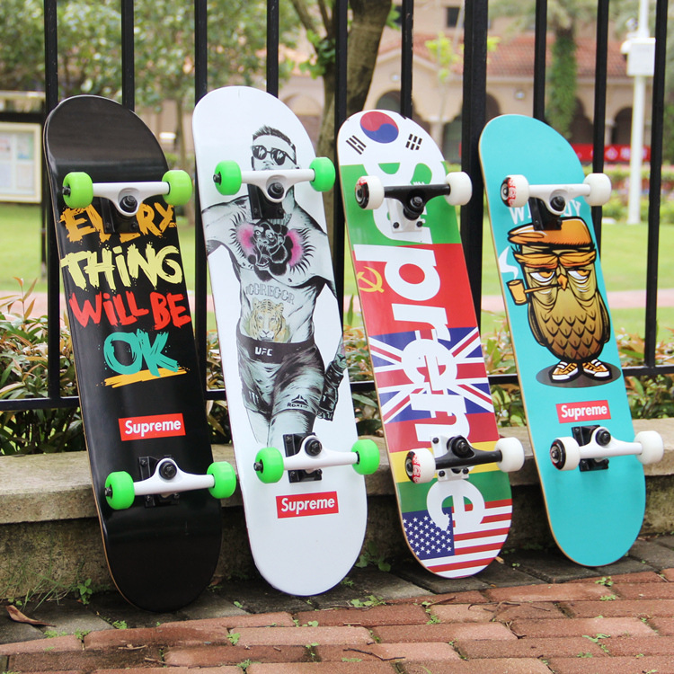 18FW Supreme Hip Hop Skateboard  スケートボード