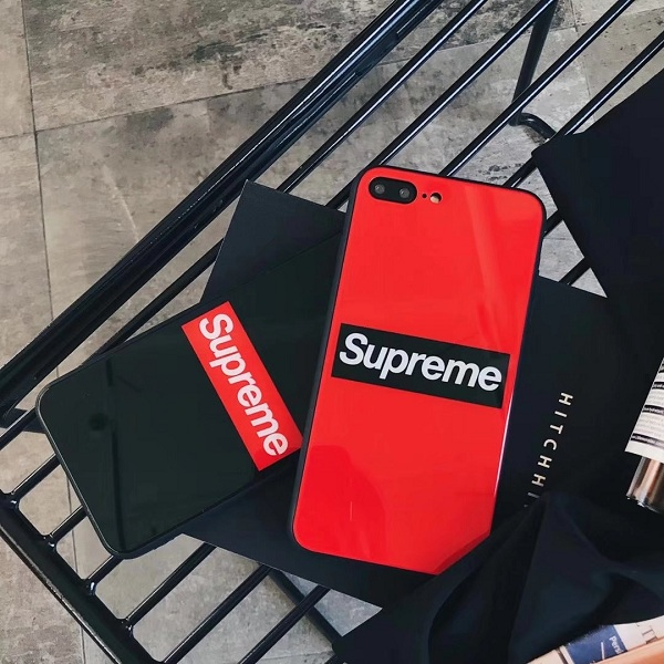 Supreme(シュプリーム)  For Iphone6/6s, 6/6sPlus, 7, 7Plus, 8, 8Plus, X , XS, XS Max, XR ソフトケース