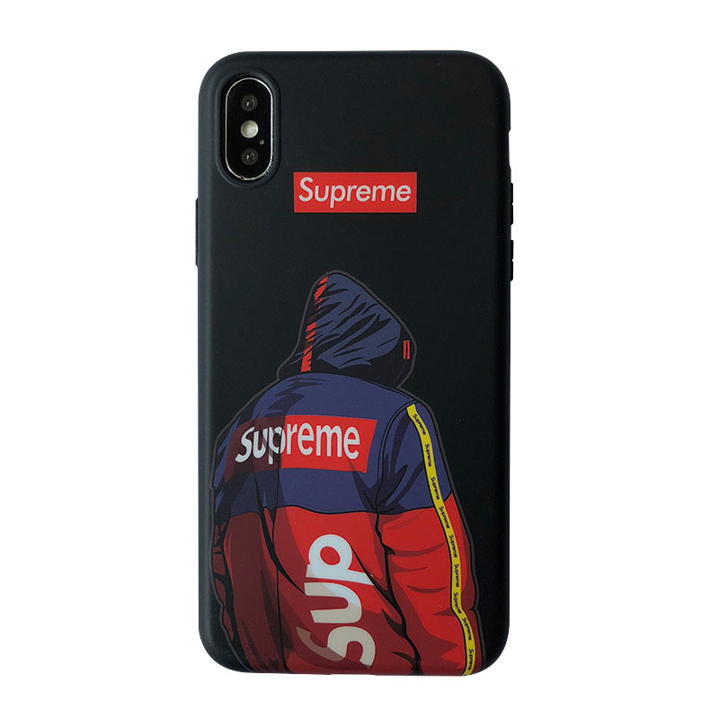 Supreme iPhone6/6s、6/6sPlus、7、7 Plus、8、8 Plus、X 、XS、XS Max、XR ケース ブラック