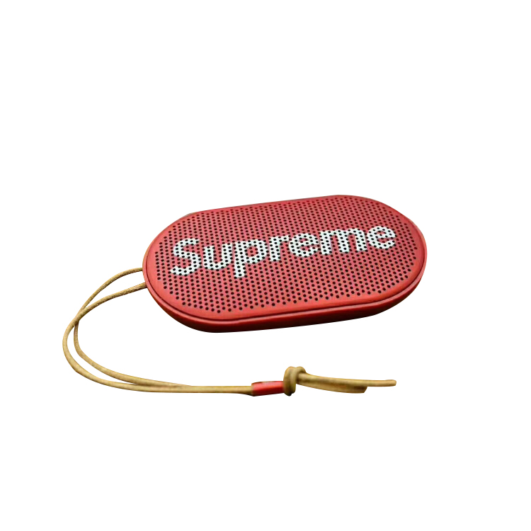Supreme (シュプリーム) B&O Play By Bang Olufsen P2 Wireless Speaker レッド