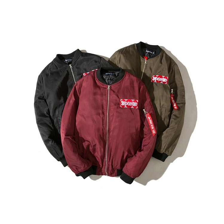 大人気ブランド Supreme X Louis Vuitton Flight Jacket 3色