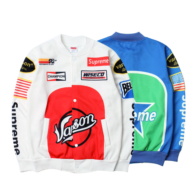 17SS Supreme X Vanson Star Jacket ジャケット 2色