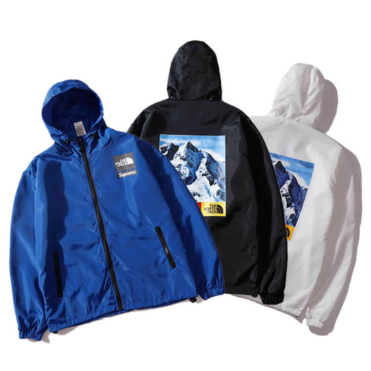 Supreme X The North Face Mountain Windbreaker Hooded ジャケット 3色