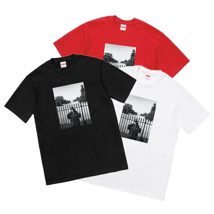 18SS Supreme X Undercover X Public Enemy White House Tシャツ 3色