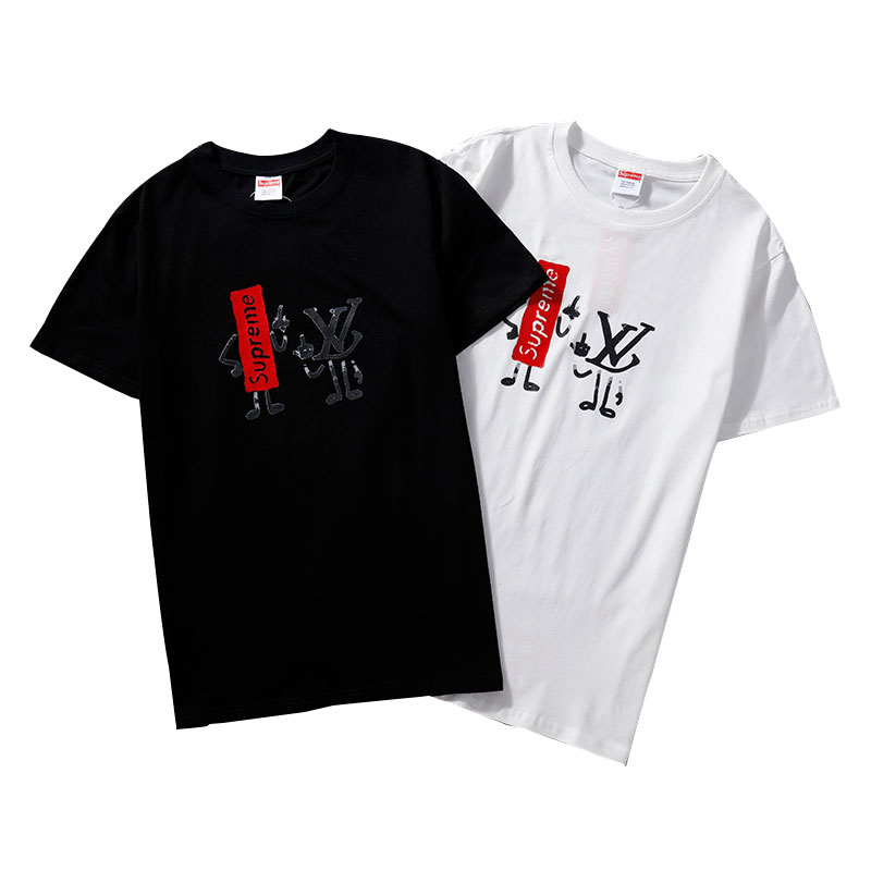 Supreme X Louis Vuitton Tシャツ 2色