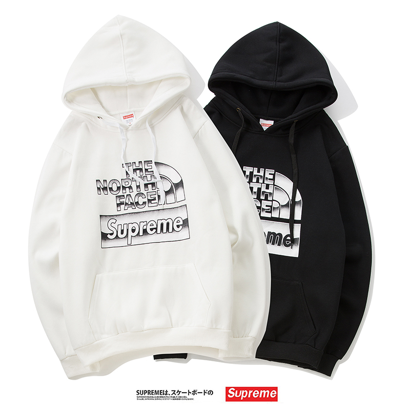 18FW Supreme X The North Face パーカー 2色
