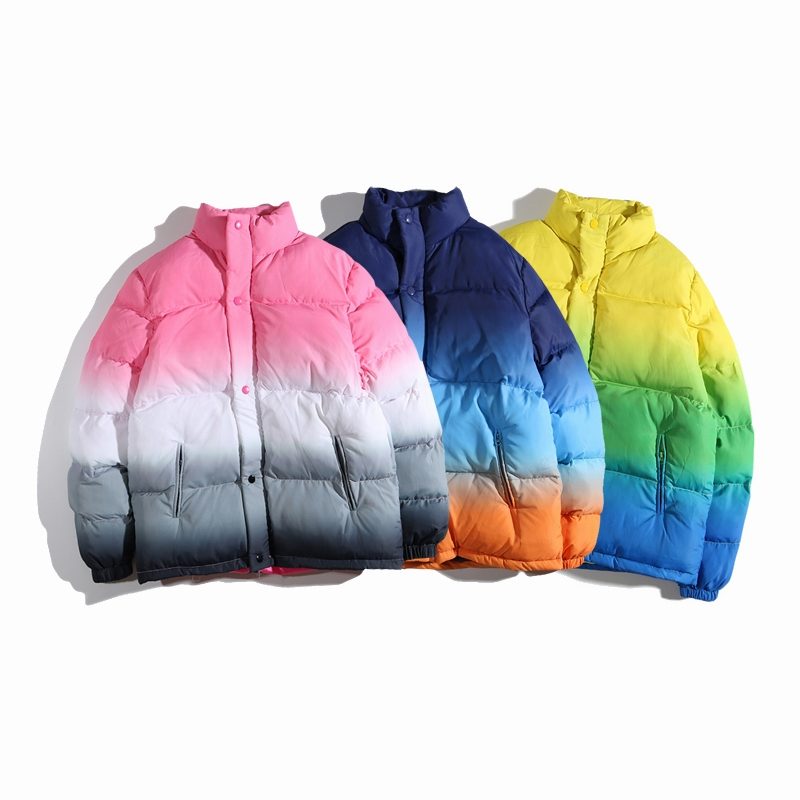 18SS Supreme Gradient Puffy ジャケット 3色
