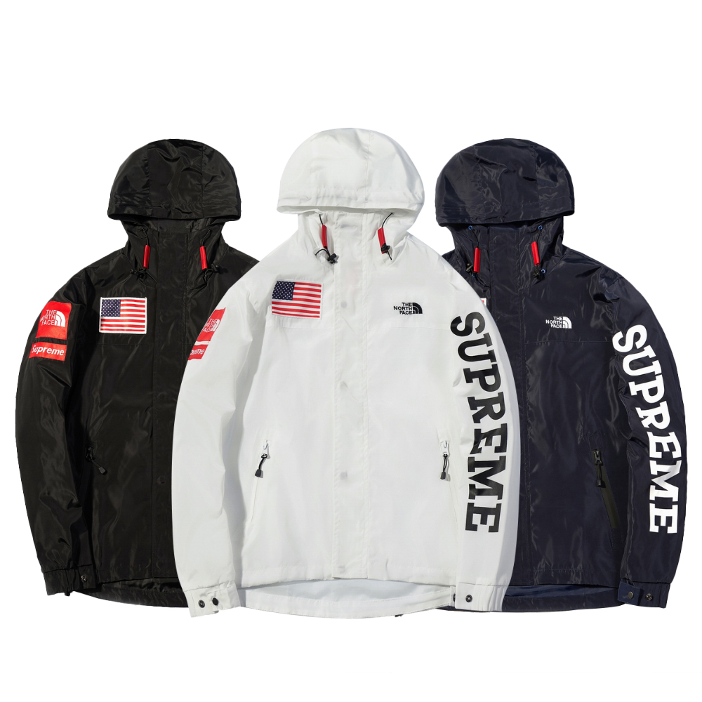 Supreme X The North Face Windbreaker ジャケット 3色