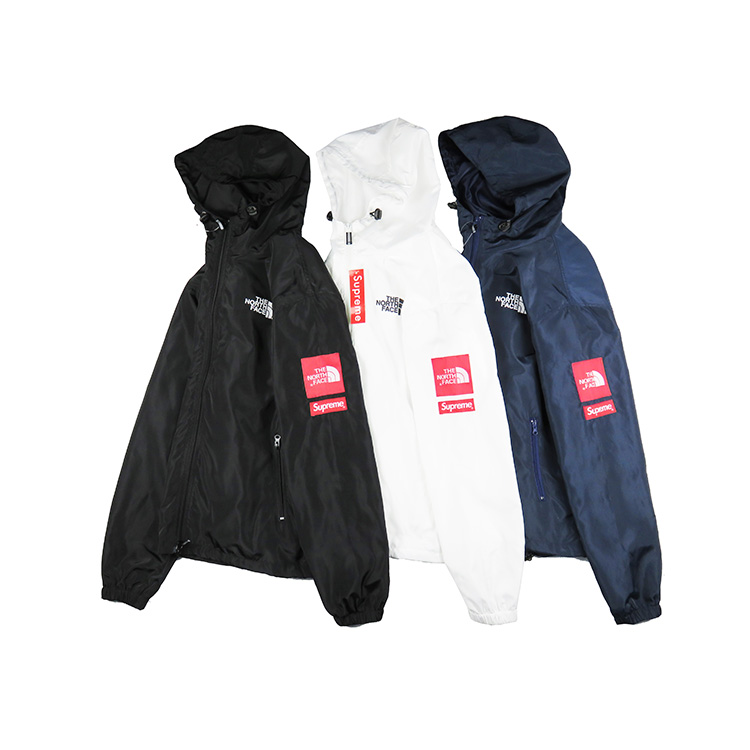 Supreme X The North Face Windbreaker Hooded ジャケット 3色
