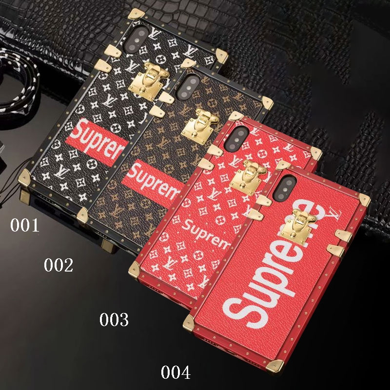 Supreme X Louis Vuitton iPhone6/6s、6/6sPlus、7、7 Plus、8、8 Plus、X 、XS、XS Max、XR ケース