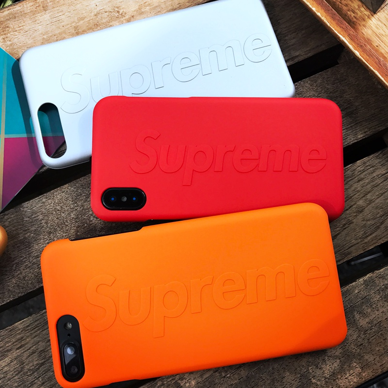 Supreme(シュプリーム) iPhone6/6s、6/6sPlus、7、7 Plus、8、8 Plus、X ケース 3色 01
