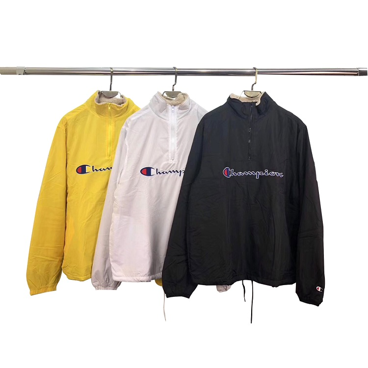 Supreme X Champion Half Zip Plus Cashmere ジャケット 3色