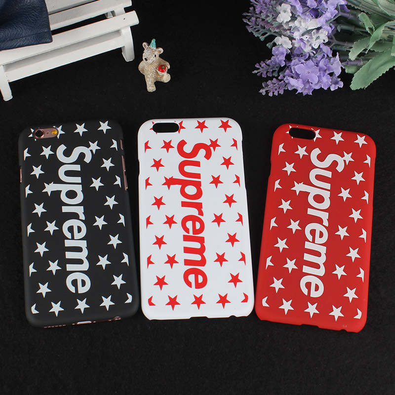 Supreme iPhone6/6s、6/6sPlus、7、7 Plus、8、8 Plus、X 、XS、XR 手紙 スクラブ ケース