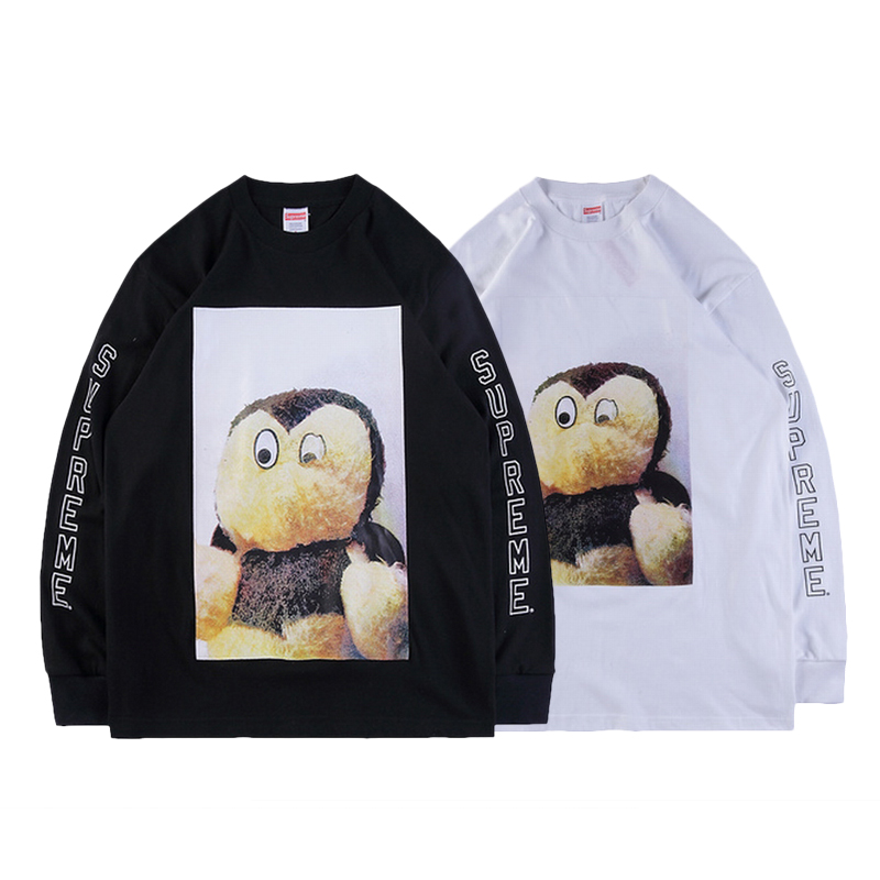 18FW Supreme X Mike Kelley Ahh Youth Work LS Tee 2色
